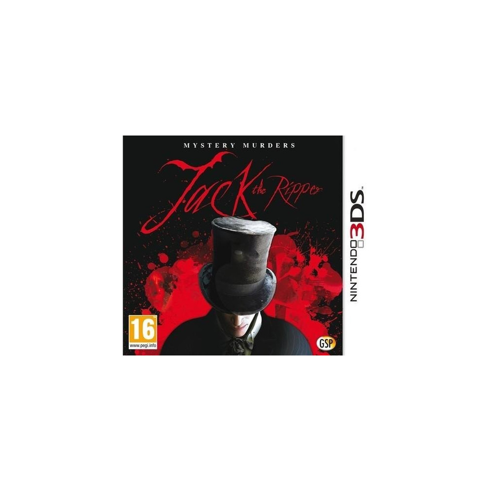 MYSTERY MURDERS JACK L EVENTREUR 3DS FR OCC