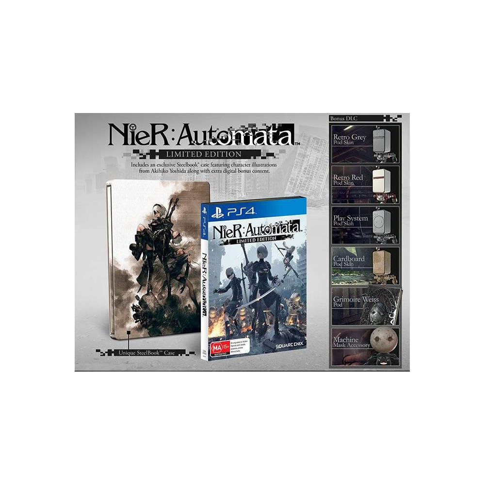 NIER AUTOMATA LIMITED EDITION PS4 UK NEW