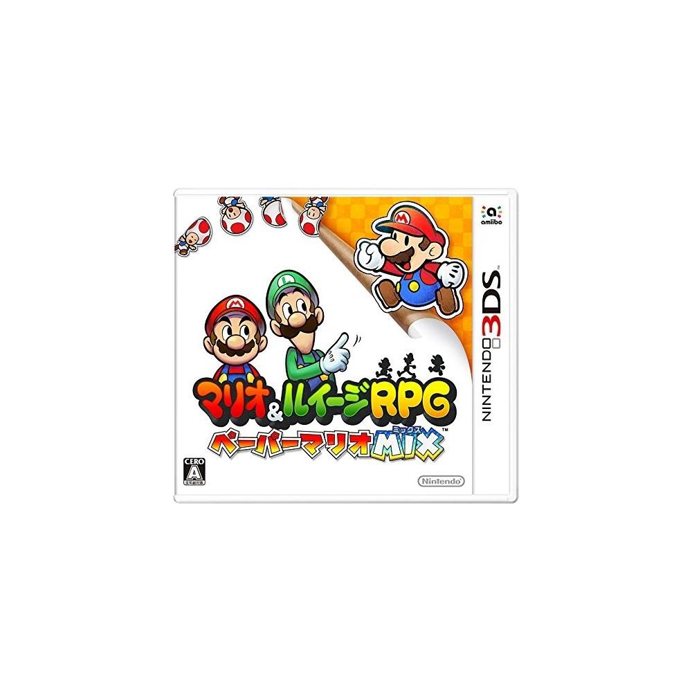 MARIO & LUIGI RPG PAPER MARIO MIX 3DS JAP OCC