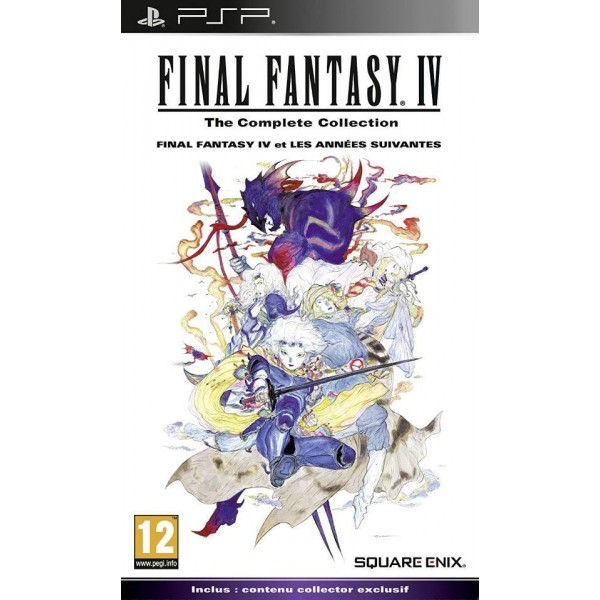 FINAL FANTASY IV THE COMPLETE COLLECTION LIMITED EDITION PSP FR OCCASION