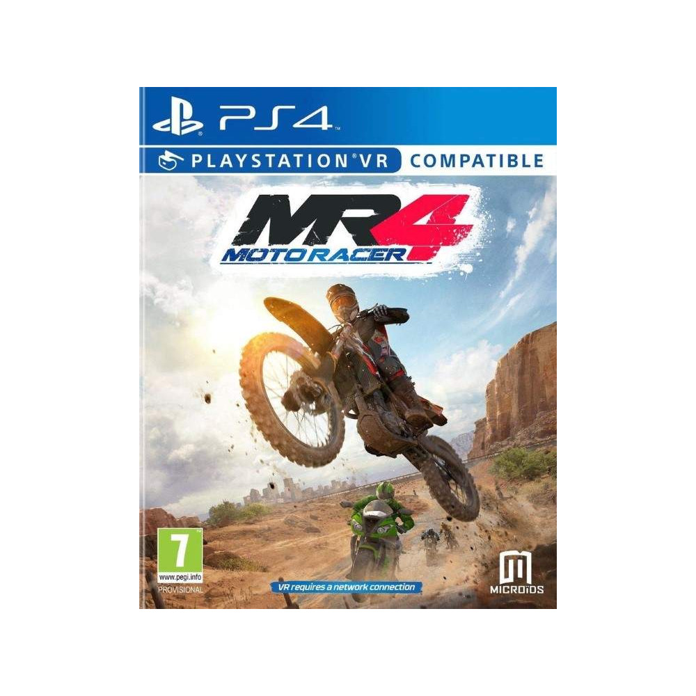 MOTO RACER 4 PS4 FR OCCASION