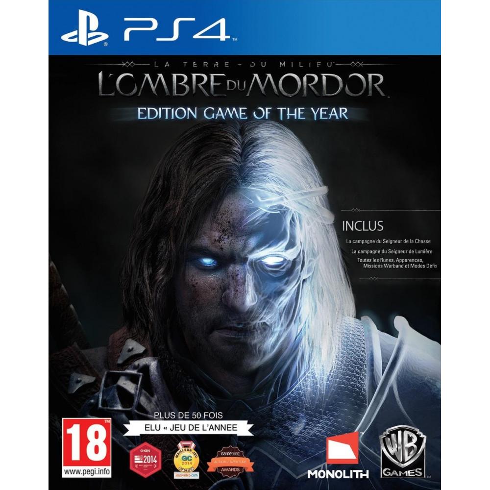 LA TERRE DU MILIEU L OMBRE DU MORDOR GOTY PS4 VF OCC