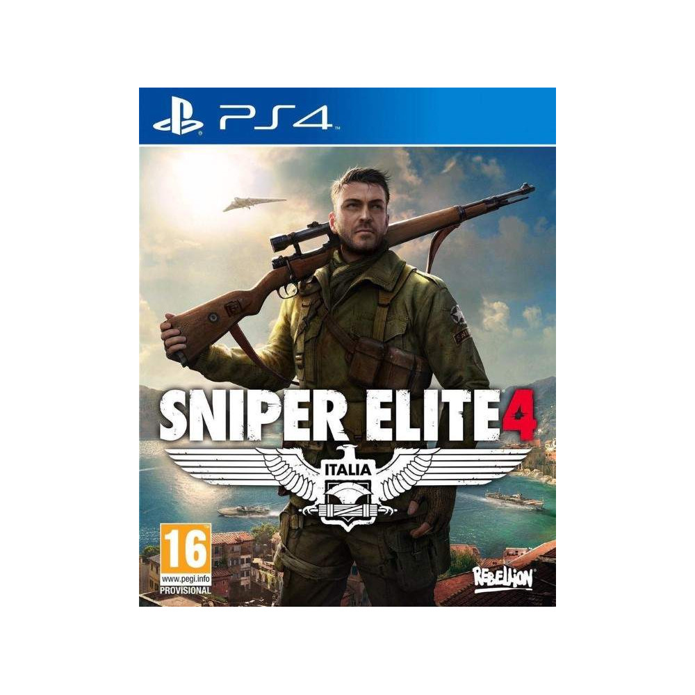 SNIPER ELITE 4 PS4 EURO FR OCCASION
