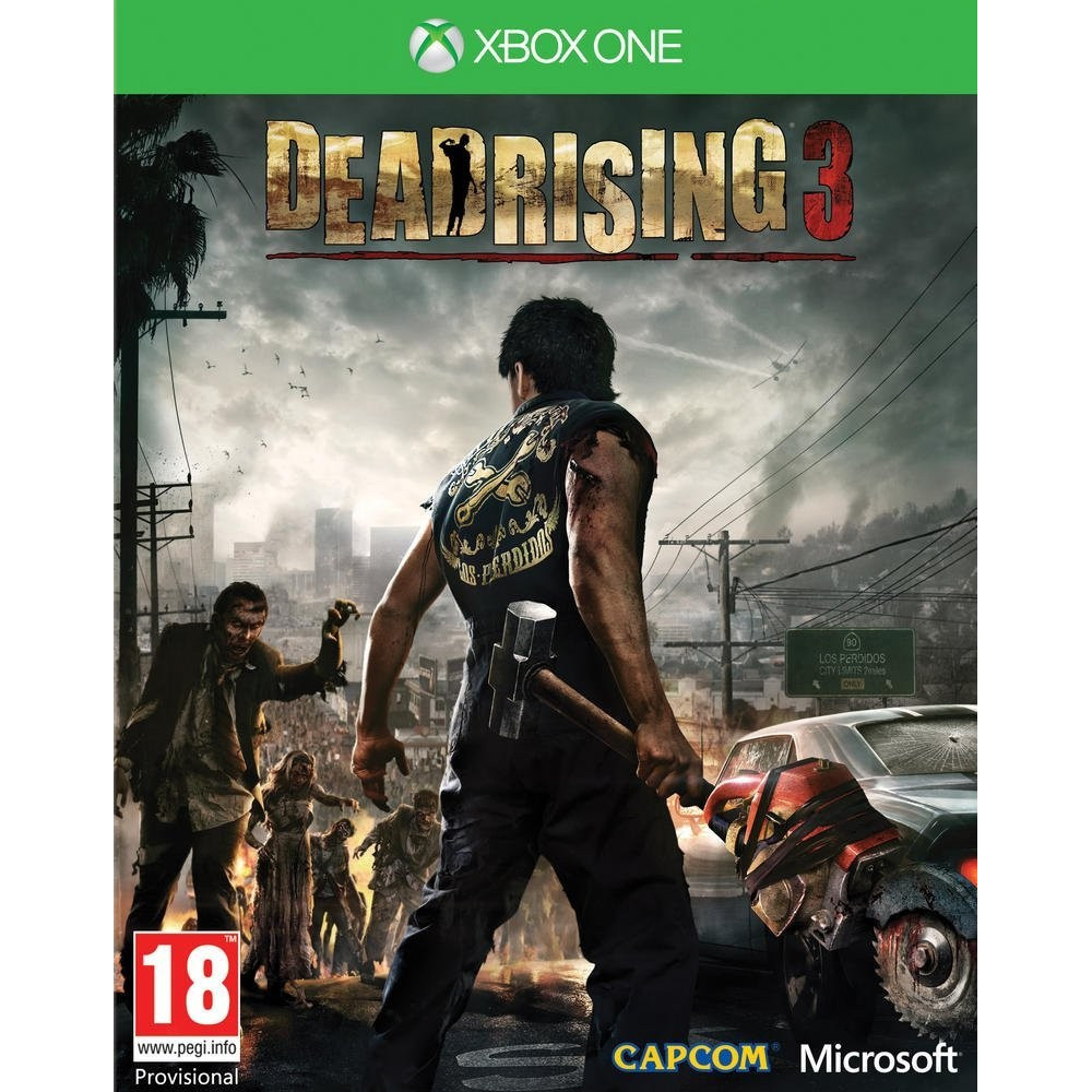 DEAD RISING 3 XBOX ONE FR OCCASION