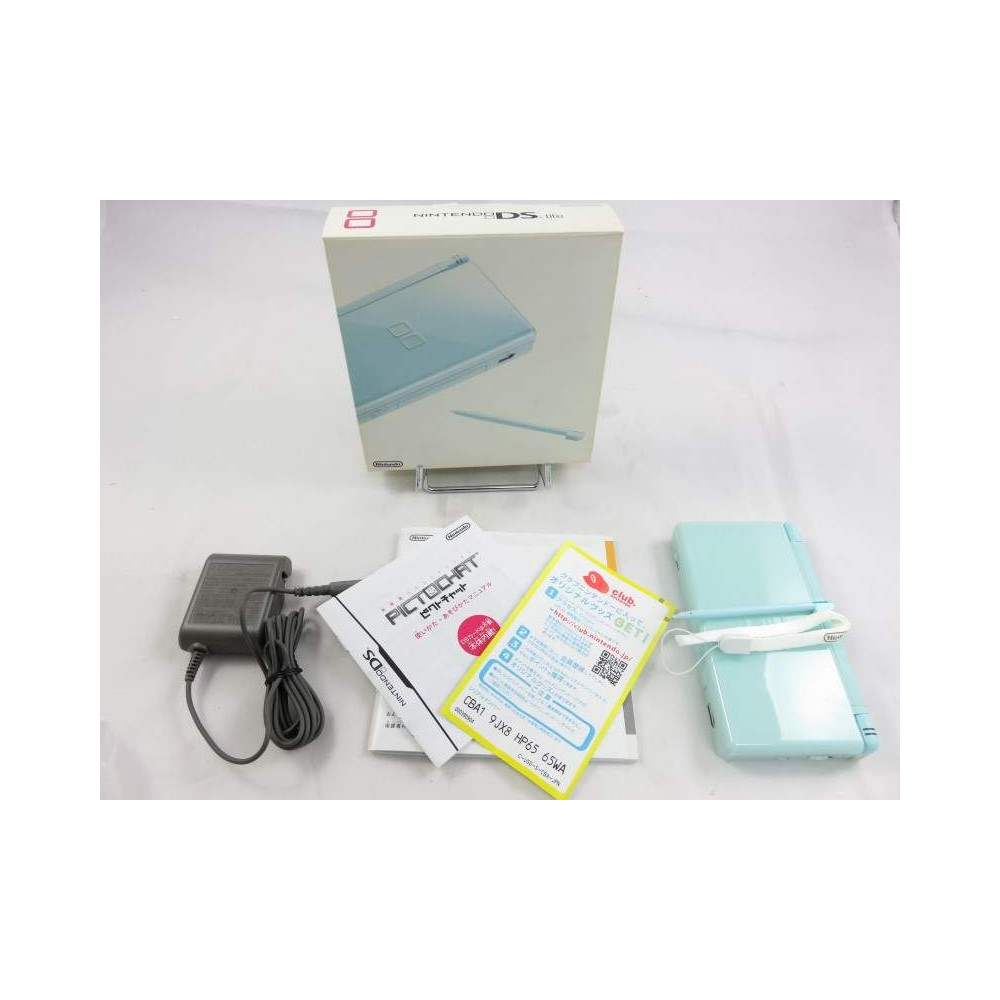 CONSOLE NINTENDO DS LITE ICE BLUE JAPAN OCCASION