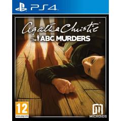 AGATHA CHRISTIE THE ABC MURDERS PS4 VF OCC