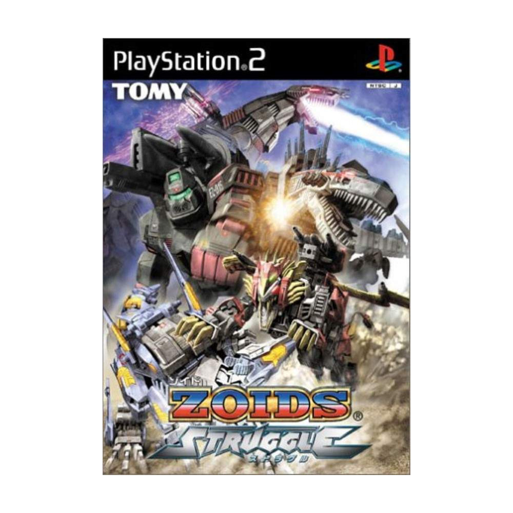ZOIDS STRUGGLE PS2 NTSC-JPN OCCASION