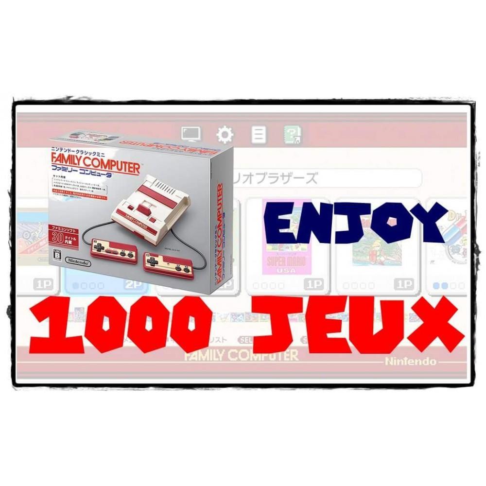 Modification Famicom Mini - Ajout de 1000 jeux