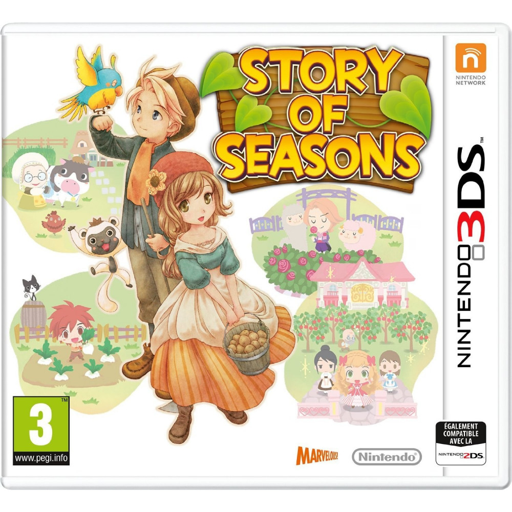 HARVEST MOON STORY OF SEASONS 3DS VF