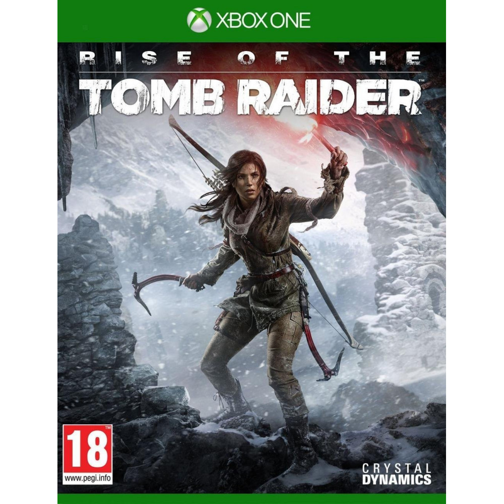 RISE OF THE TOMB RAIDER XBOX ONE FR OCCASION