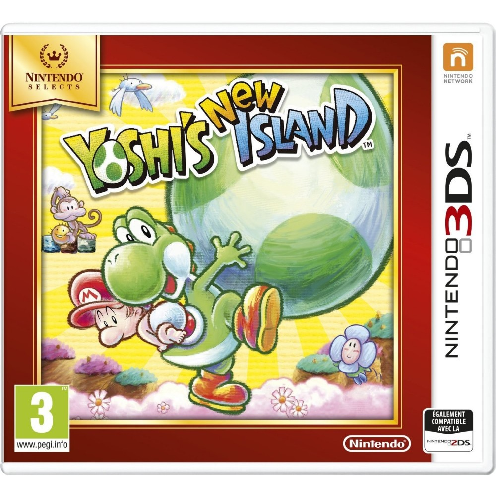 NINTENDO SELECT YOSHI S NEW ISLAND 3DS VF