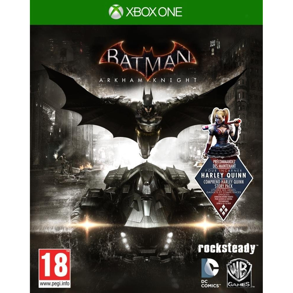 BATMAN ARKHAM KNIGHT XONE VF OCC