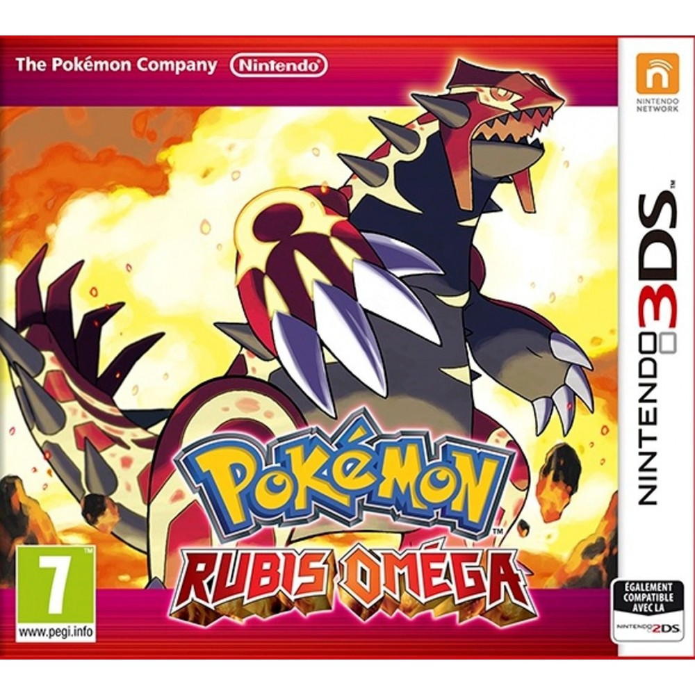 POKEMON RUBIS OMEGA 3DS VF