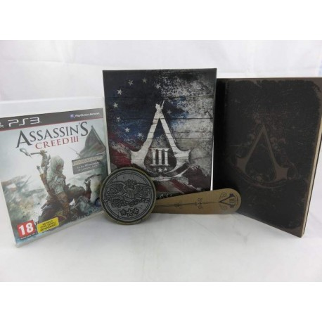 ASSASSIN'S CREED III JOIN OR DIE LIMITED EDITION PS3 PAL-FR OCCASION