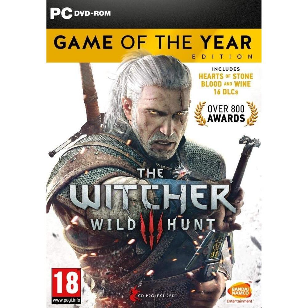 THE WITCHER 3 WILD HUNT GOTY PC FR NEW