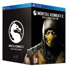 MORTAL KOMBAT X COLLECTOR P4 FR NEW