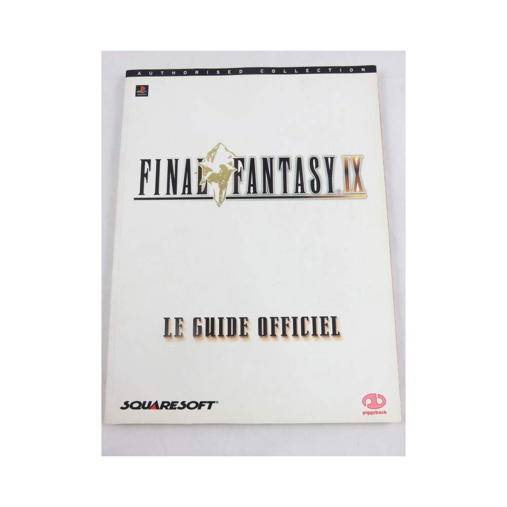GUIDE FINAL FANTASY IX FR OCCASION