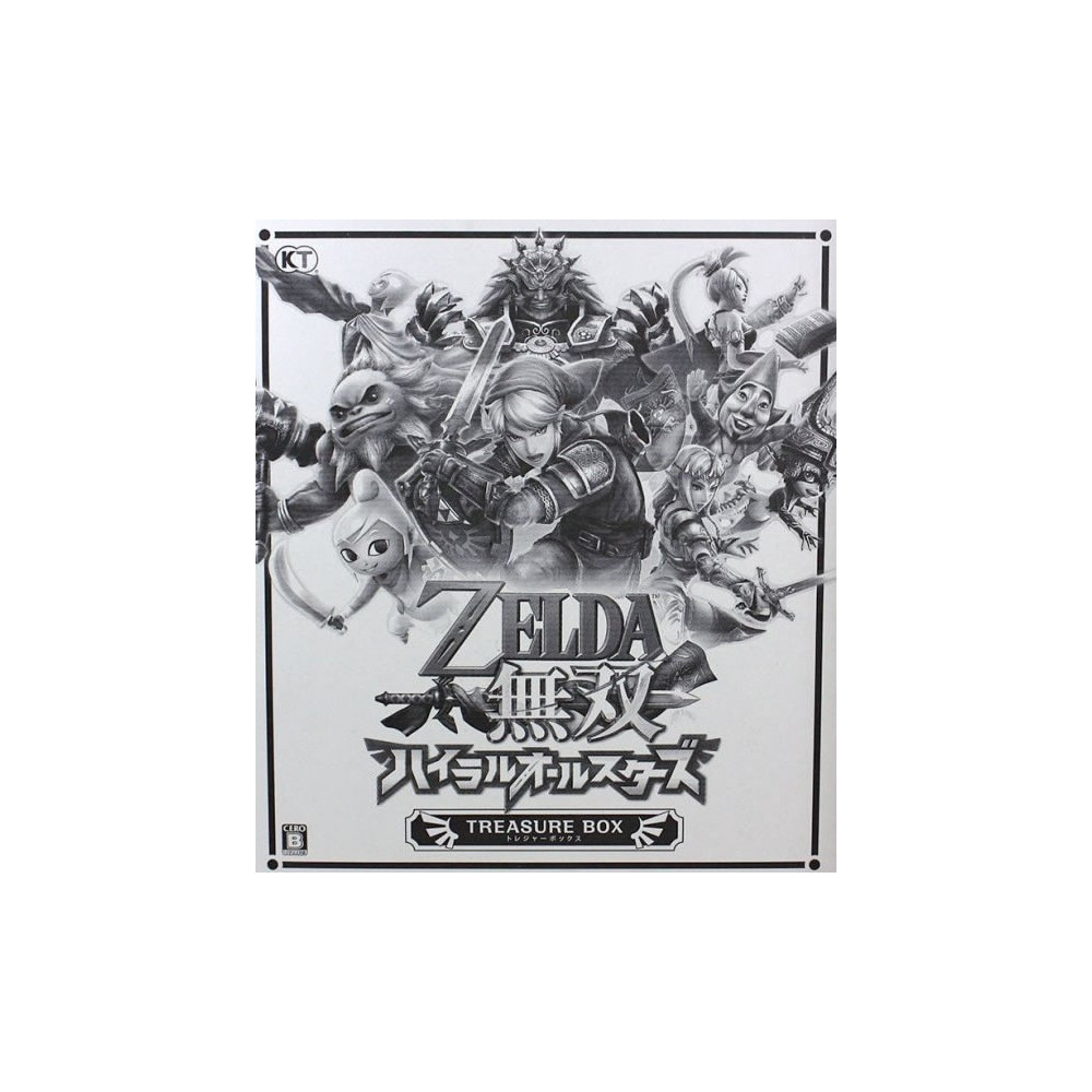 ZELDA MUSOU HYRULE ALLSTARS TREASURE BOX 3DS JAP
