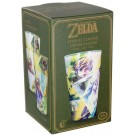 THE LEGEND OF ZELDA - HYRULE COLOUR CHANGE GLASS NEW