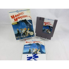 MANIAC MANSION (+ POSTER) NES PAL-B FRA OCCASION