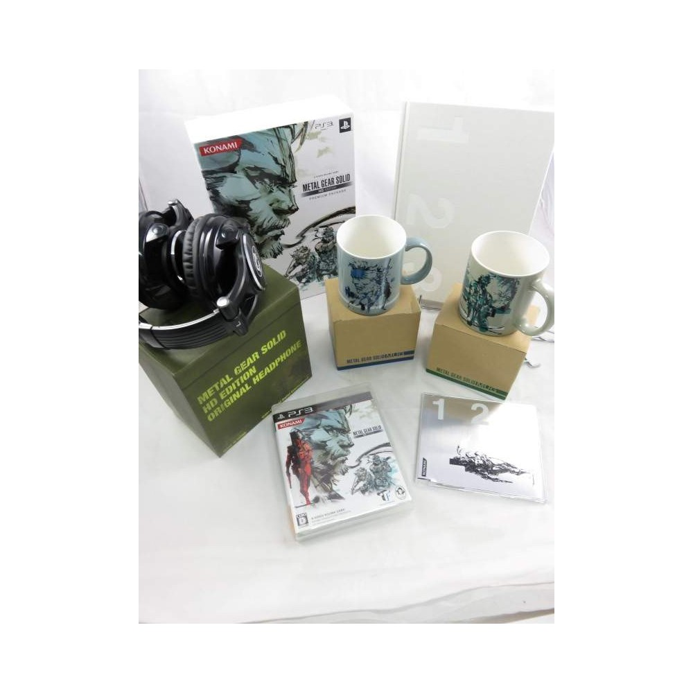 METAL GEAR SOLID HD EDITION PREMIUM PACKAGE PS3 JPN OCCASION