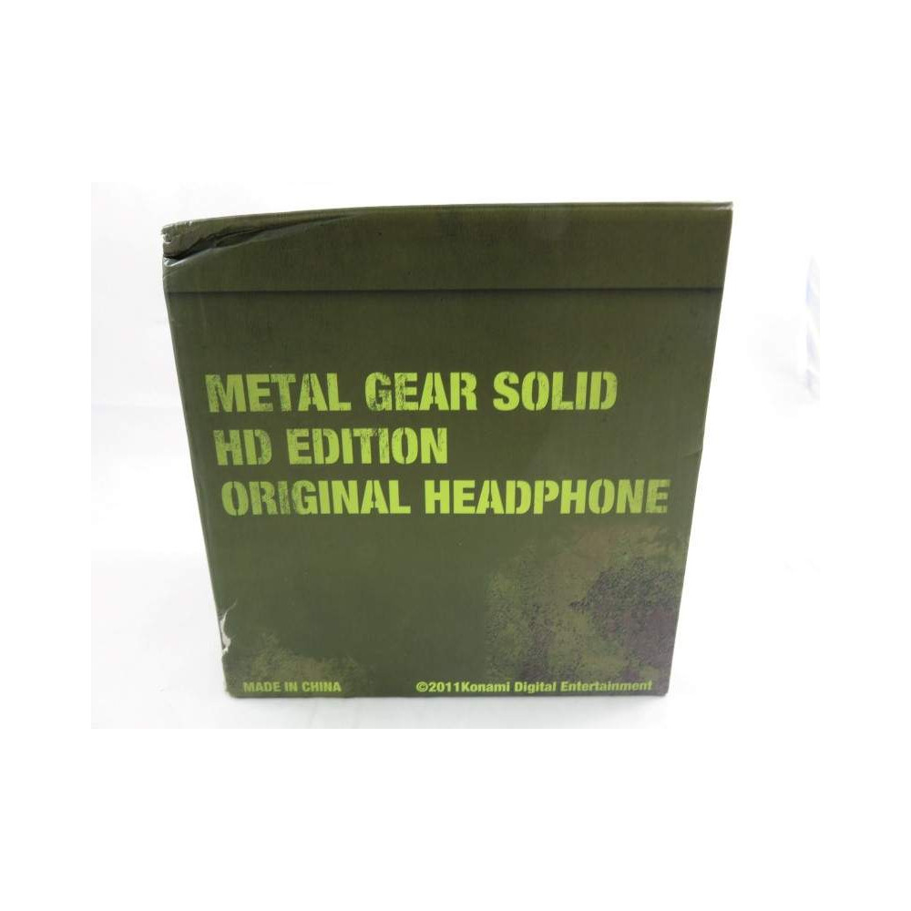 METAL GEAR SOLID HD EDITION ORIGINAL HEADPHONE KONAMI JAPON 2011 OCCASION