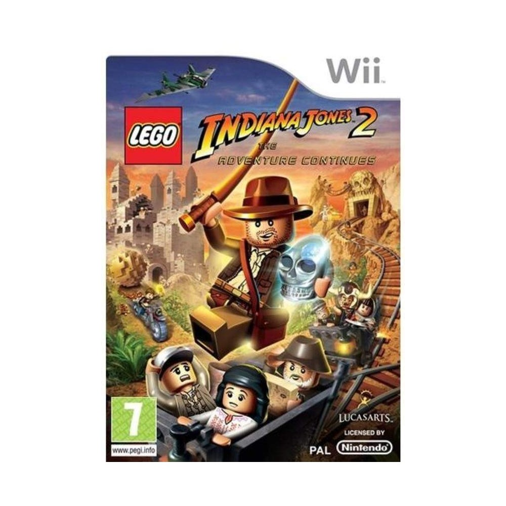 LEGO INDIANA JONES 2 : THE ADVENTURE CONTINUES WII PAL-FAH EURO FR NEW