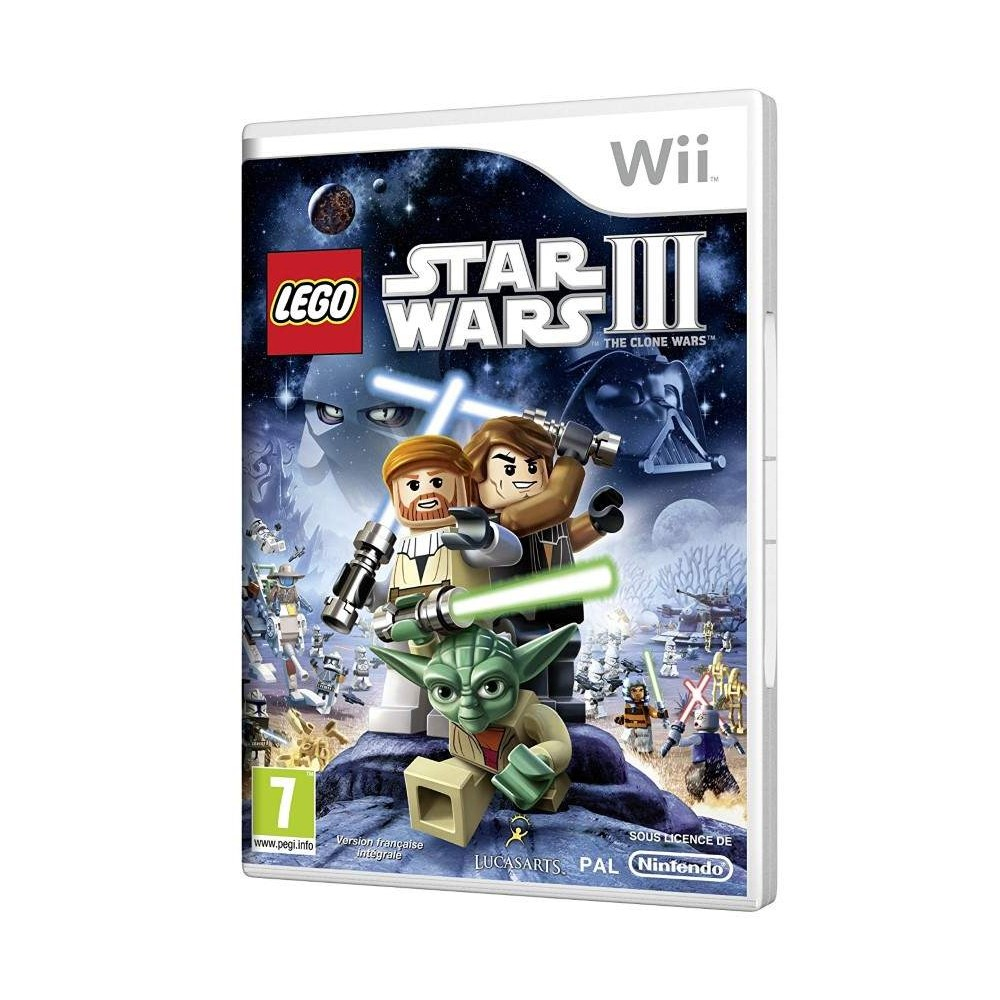 LEGO STAR WARS III : THE CLONE WARS WII PAL-FAH EURO FR NEW