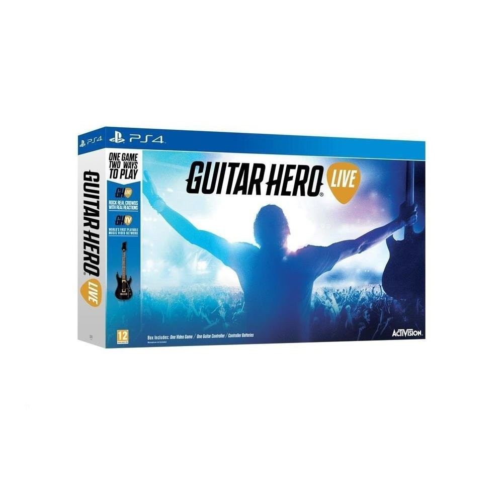 GUITAR HERO LIVE PS4 VF