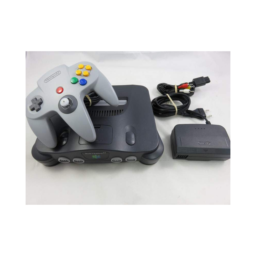 CONSOLE N64 PAL-EURO OCCASION