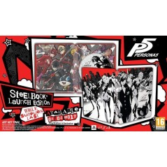 PERSONA 5 STEELBOOK PS4 EURO FR NEW