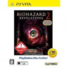 BIOHAZARD REVELATIONS 2 BEST PRICE PSVITA JPN NEW