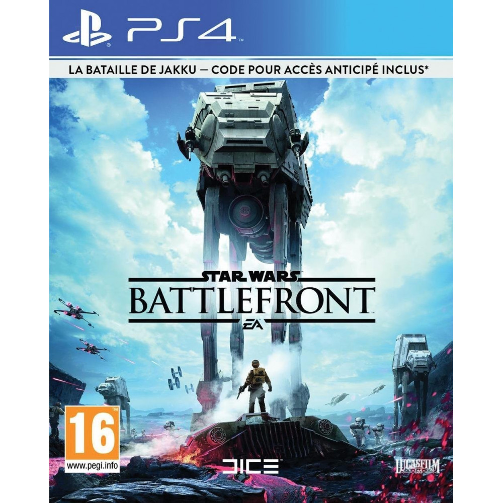 STAR WARS BATTLEFRONT DAY ONE EDITION PS4 FR OCCASION