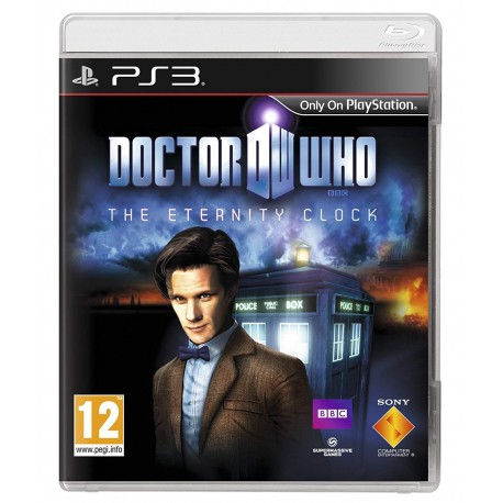 DOCTOR WHO : THE ETERNITY CLOCK PS3 UK OCCASION