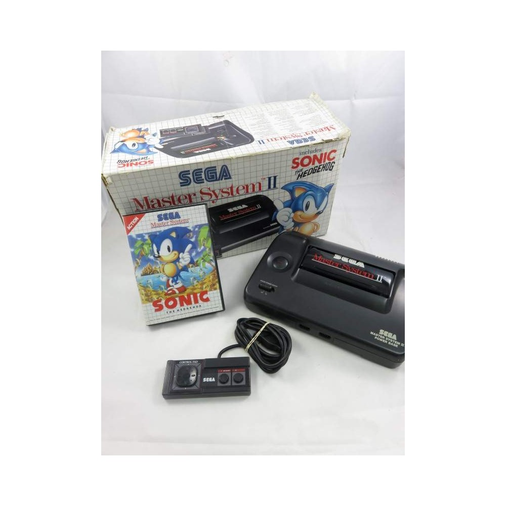 CONSOLE MASTER SYSTEM 2 + SONIC THE HEDGEHOG PAL-EURO OCCASION
