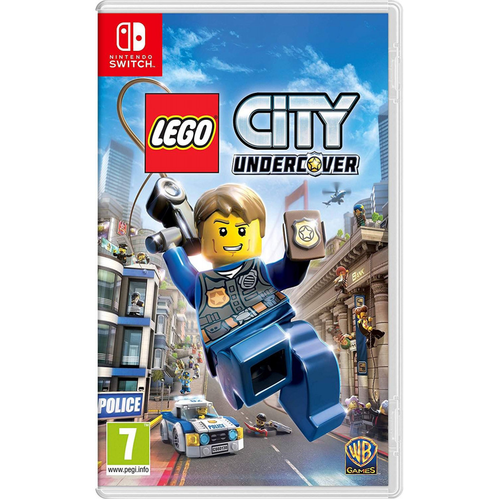 LEGO CITY UNDERCOVER SWITCH EURO FR NEW
