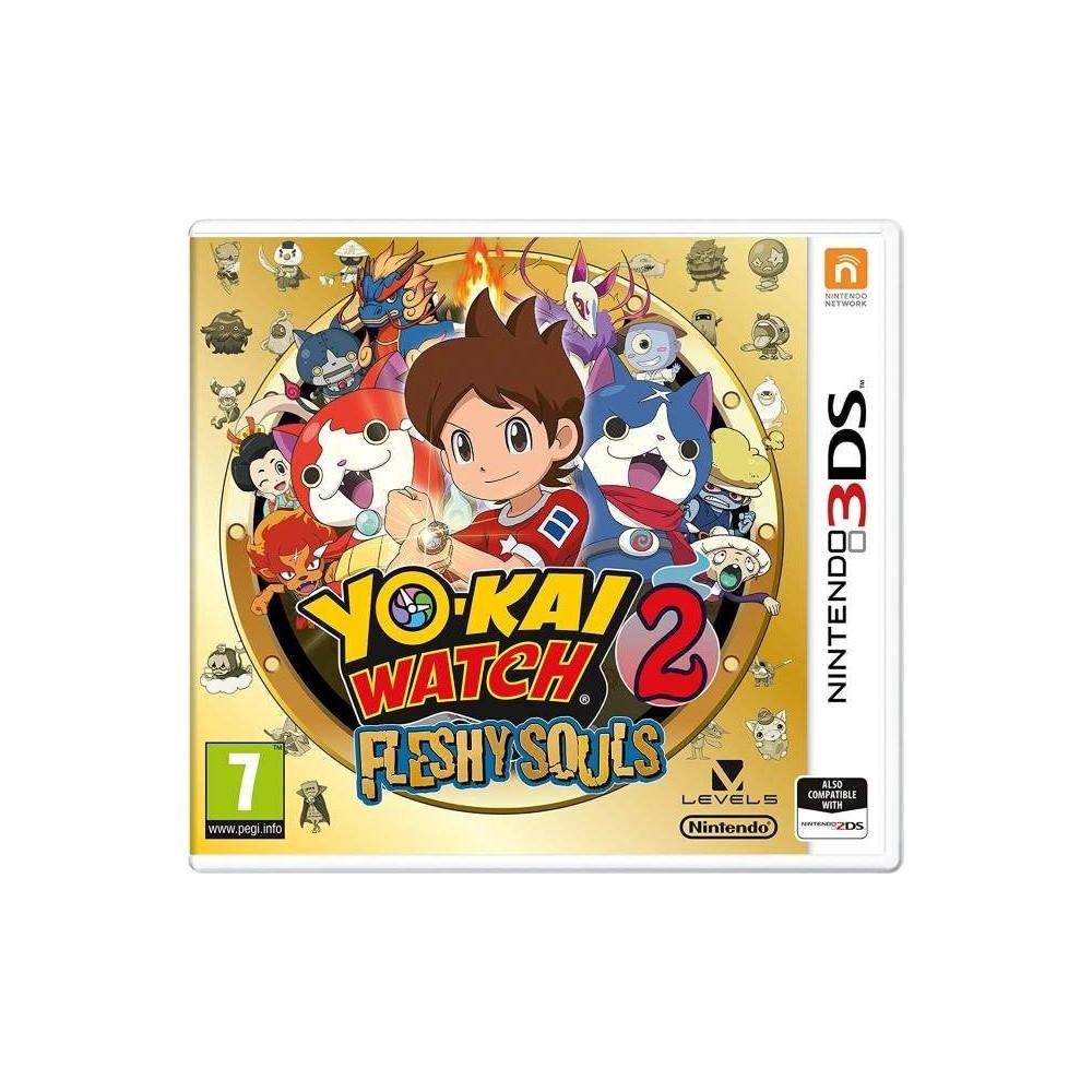 YO KAI WATCH 2 FRESHY SOULS 3DS UK NEW