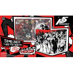 PERSONA 5 STEELBOOK PS4 US OCCASION