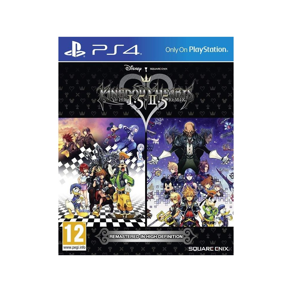 KINGDOM HEARTS 1.5 & 2.5 PS4 FRANCAIS OCCASION