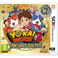 YO-KAI WATCH 2 : FANTOMES BOUFFIS + MEDAILLE INCLUSE - EDITION SPECIALE LIMITEE 3DS PAL-FR NEW