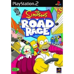 THE SIMPSONS ROAD RAGE PS2 PAL-FR OCCASION