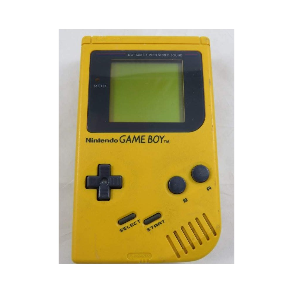 CONSOLE GAMEBOY FAT DMG-01 JAUNE