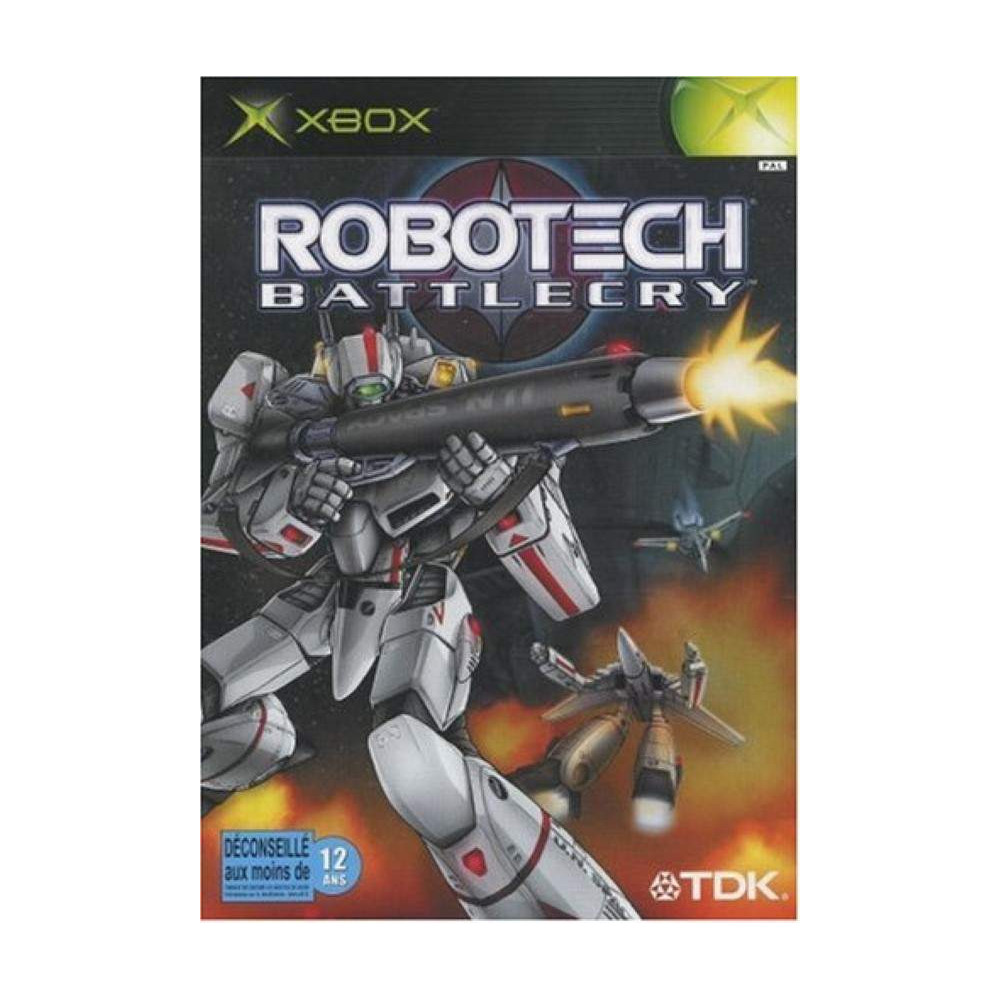 ROBOTECH BATTLE CRY XBOX PAL-FR OCCASION