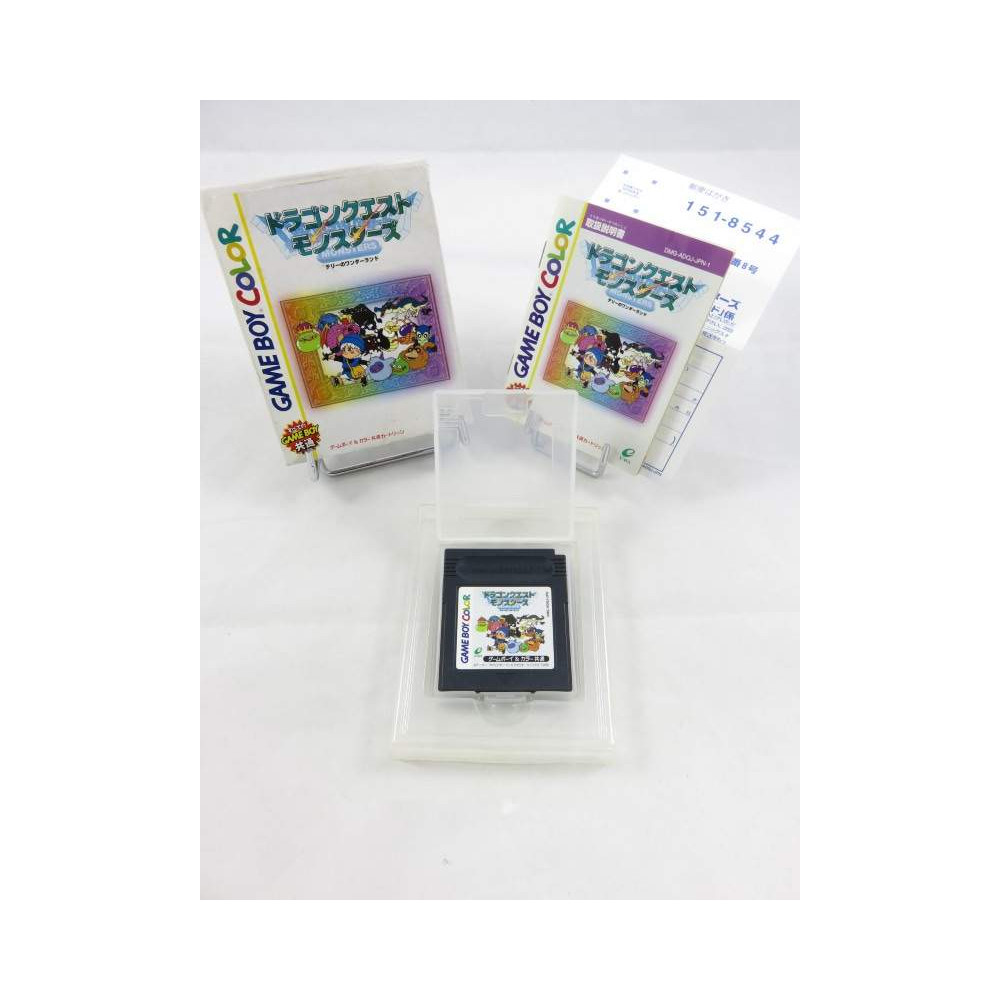 DRAGON QUEST MONSTERS GAMEBOY COLOR JPN OCCASION