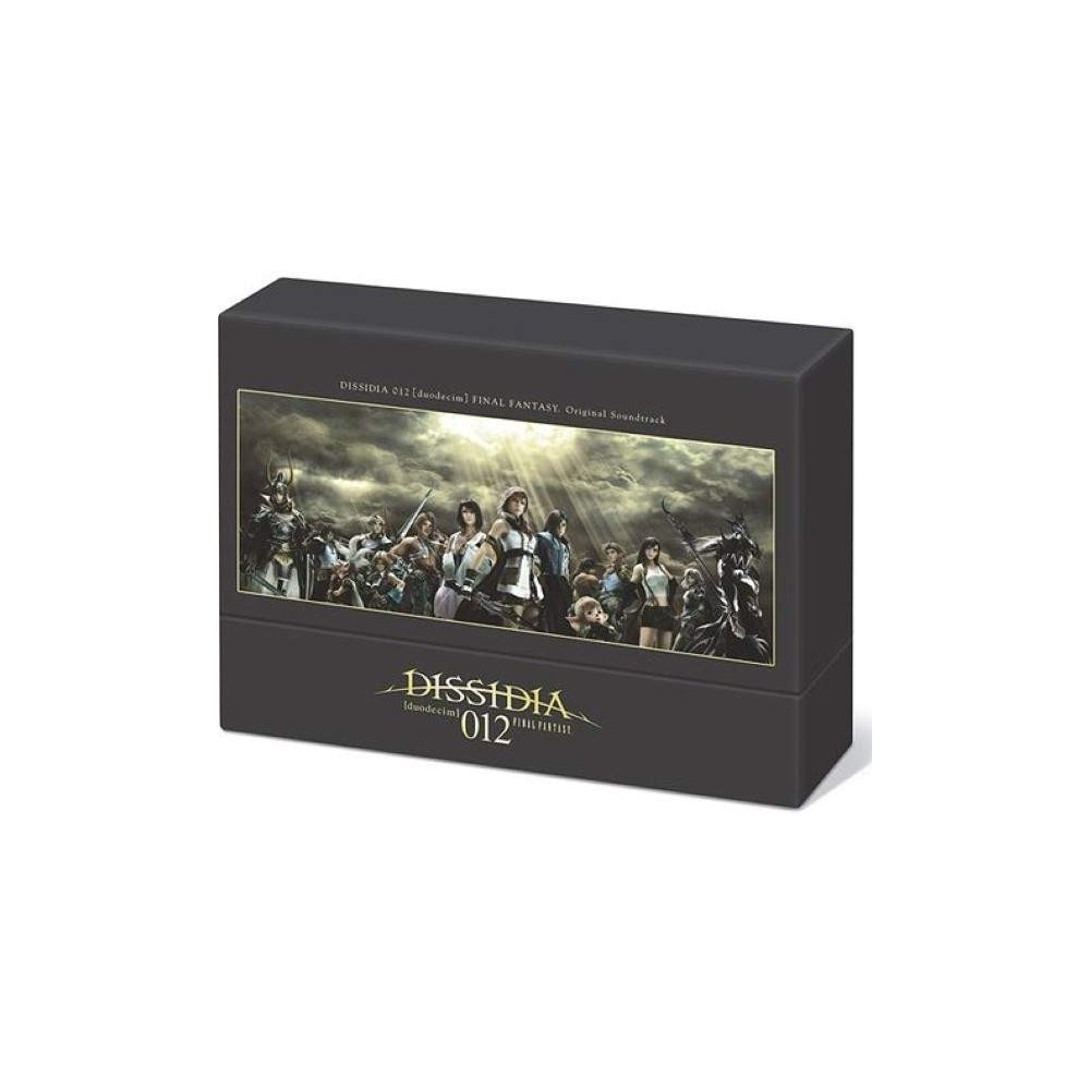 OST BOX DISSIDIA 012 DUODECIM JPN OCCASION