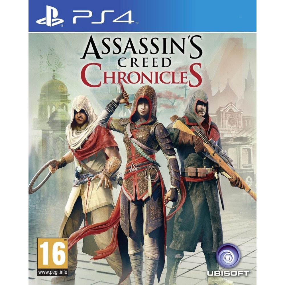 ASSASSIN S CREED CHRONICLES PS4 FR OCCASION