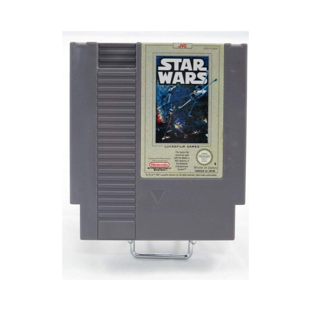 STAR WARS NINTENDO NES PAL-B FRA (CARTRIDGE ONLY - GOOD CONDITION)