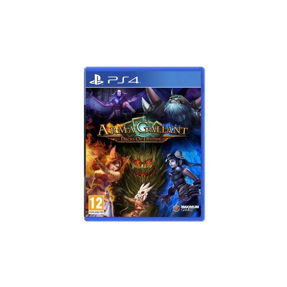 ARMA GALLANT DECKS OF DESTINY PS4 UK NEW