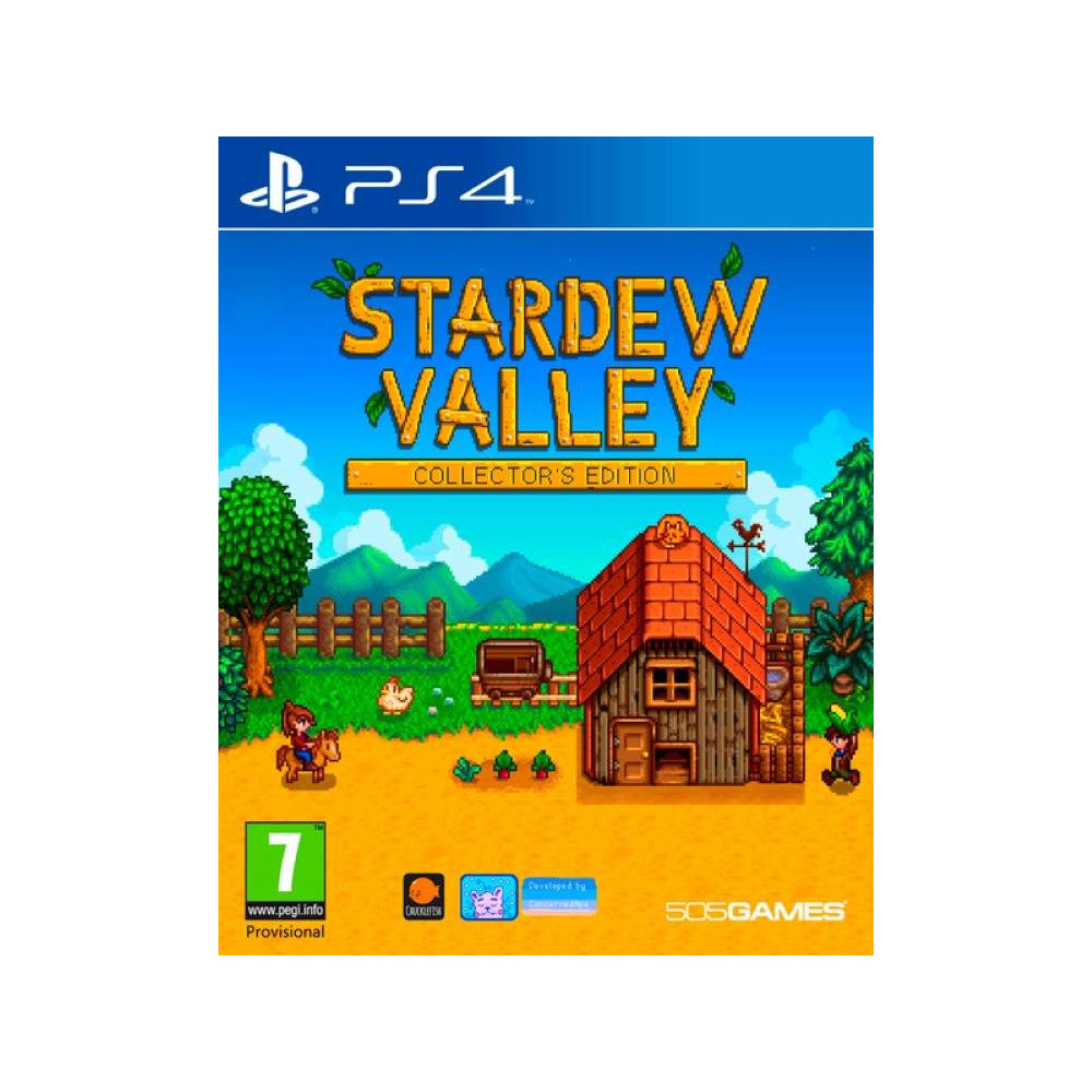 STARDEW VALLEY COLLECTOR EDITION PS4 UK NEW