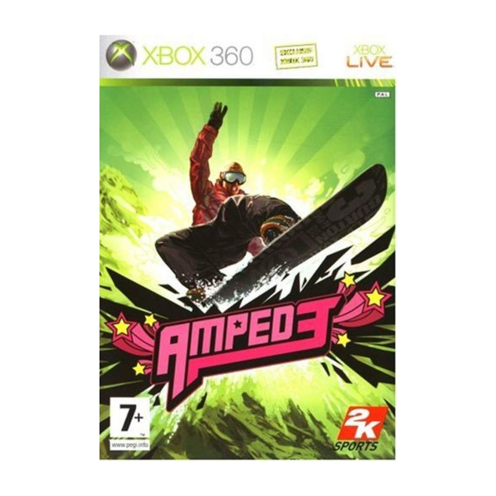 AMPED 3 XBOX 360 PAL-FR NEW